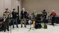 Mardi Gras Band featuring President John LeBeouf and Dave Duplissey